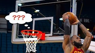 """NBA """"Where Is The Rim?"""" Moments"""