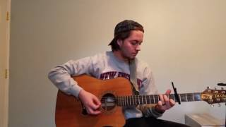 No Halo - Sorority Noise (acoustic cover w/ chords)