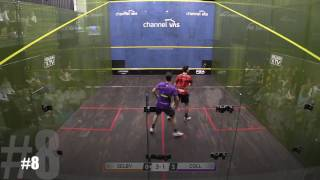 Squash: Men's Shot of The Season 2016/17 - The Contenders