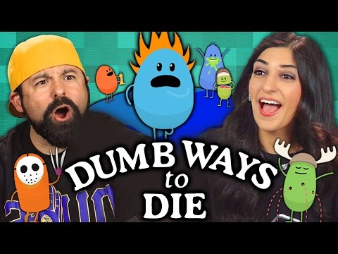 DUMB WAYS TO DIE GAME Adults React Gaming
