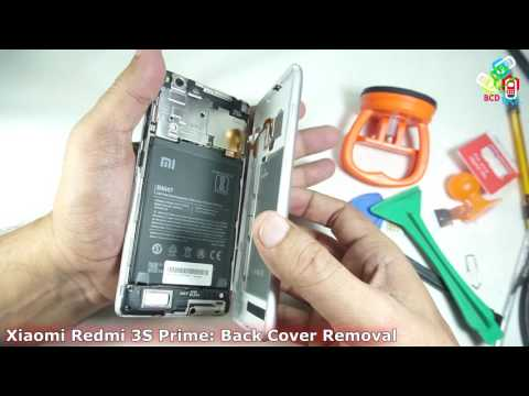 How to Open Back Cover of Redmi 3S Prime