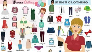 Clothes Vocabulary in English - Clothes and Accessories   Clothes for Kids