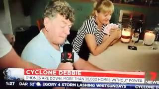 Cyclone Debbie Blowjob blooper