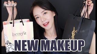 NEW IN MAKEUP | YSL, BENEFIT, ETUDE HOUSE, MUSE 신제품~ 쇼핑했어요!