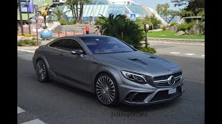 1000HP Mansory S63 AMG Coupe in Monaco! BRUTAL SOUNDS!