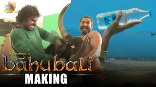 Baahubali VFX breakdown : Behind the Scenes | Latest Tamil Cinema News | Making