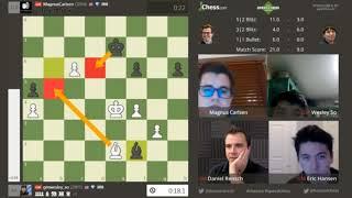 Magnus Carlsen vs Wesley So Speed Chess Championship 2017 (part 6)