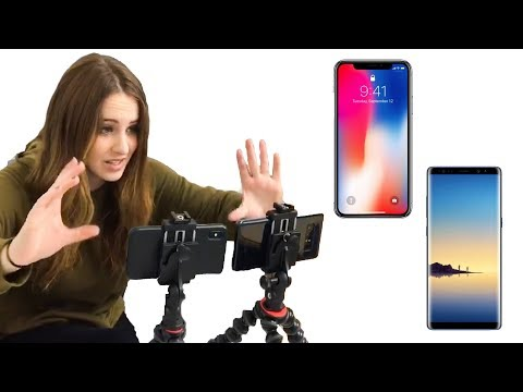 Xxx Mp4 IPhone X Vs Samsung Note 8 ✨ VIDEO TEST ✨ 3gp Sex