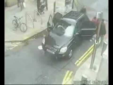 Funny Car Accidents Śmieszne Wypadki Samochodów