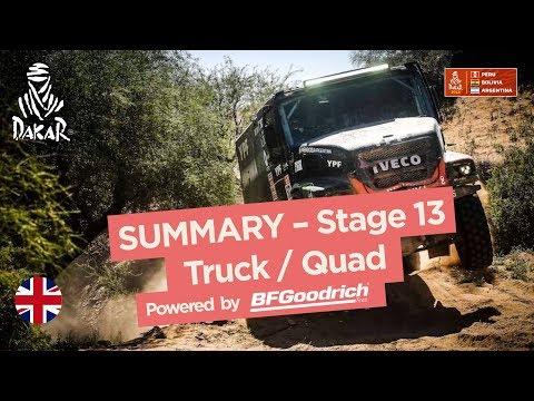 Xxx Mp4 Summary Truck Quad SxS Stage 13 San Juan Córdoba Dakar 2018 3gp Sex