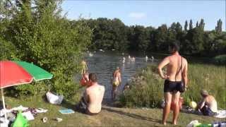 Koupání - rybník Motol