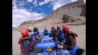 Rafting on Zanskar River - Ladakh 2017 GoPro Cam