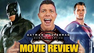 BATMAN V SUPERMAN: Dawn of Justice - Movie Review