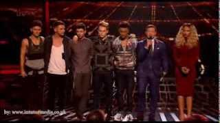 X Factor UK 2013 - results 4 Part2 - Sunday 3rd Nov