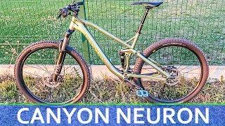 CANYON NEURON │New BIKE Day │Mountain Biking│All Round Full Suspension Trail Bike