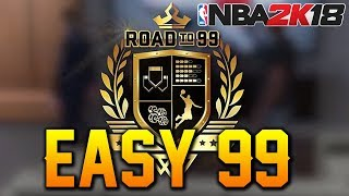 NBA 2K18 HOW TO GET 99 OVERALL LEGEND EASY! HOW TO GET ALL ATTRIBUTE UPGRADES & BADGES FAST!