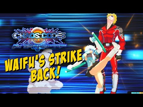 THE WAIFU S STRIKE BACK Chaos Code PS4 Day 1 Online Ranked
