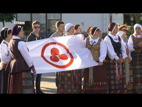 """ETERIS TV 2017.06.06 Vaikų gynimo dienos metu Prienuose suorganizuota akcija """"Taikos glėbys"""""""