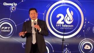 Toàn cảnh lễ kỷ niệm 20 năm thành lập FPT Telecom