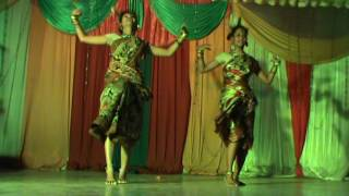 Bangla Folk Dance...Matal Sure by Puja Bag & Sneha Chowdhury..
