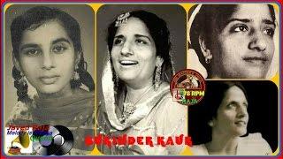 SURINDER KAUR-Film-SUNEHRE DIN-[1949]~Thandi Thandi Hawa Jo,Bata De Jaane Wale O-[Great78 RPM Ve