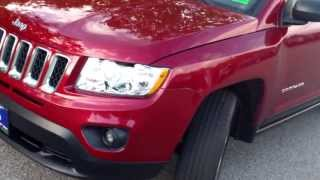 Best Priced 2012 Jeep Compass Latitude 4x4 #8712 Southern Maine Motors Car Dealers in Me 04072