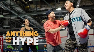 Richie Le Challenges ComplexCon Attendee for a chance to win BBC NMDs | Anything For The Hype