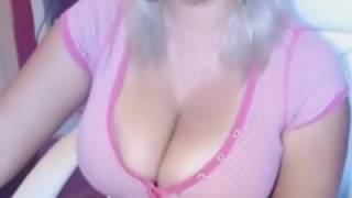 Big tits smoking  nice women