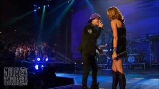 and quot overboard and quot hd and amp 3d miley cyrus and amp justin bieber live at ao vivo no madison square garden