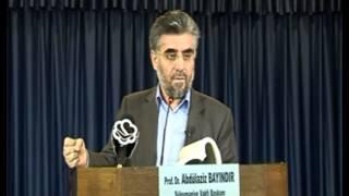 Prof. Dr. Abdulaziz Bayındır - Şefaatle İlgili Hadisler Kur'an Ve Birbirleri İle Çelişmektedirler ...