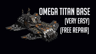 OMEGA TITAN BASE[HELL HOUNDS 95] {1m repair,very easy} WAR COMMANDER