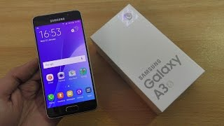 Samsung Galaxy A3 (2016) - Unboxing, Setup & First Look (4K)