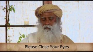 Isha Kriya- Guided Meditation With Sadhguru
