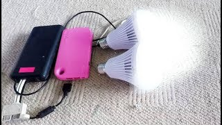 How to make USB power super bright reading lamp - Powerful USB Led bulb! 85