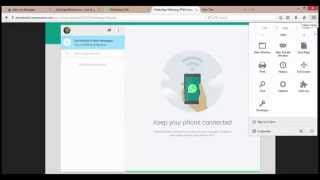 How to use Whatsapp For Web on Mozilla Firefox ?
