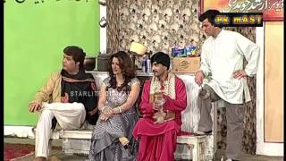 Best Of Saima Khan and Sajan Abbas New Stage Drama Comedy Clip