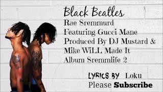 Black beatles- rae shremmurd