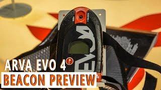 Arva Evo 4 Avalanche Beacon Preview
