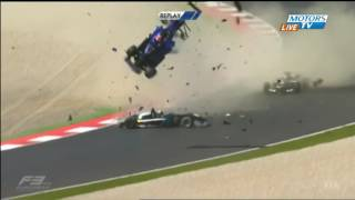 FIA F3 Red Bull Ring Huge Crash Replay