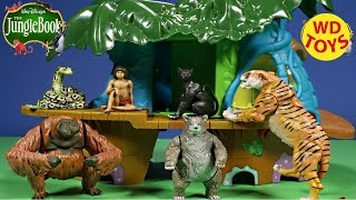 New The Jungle Book Action Figures 3 Packs from Just Play Mowgli,Baloo,Shere Khan Unboxing - WD Toys