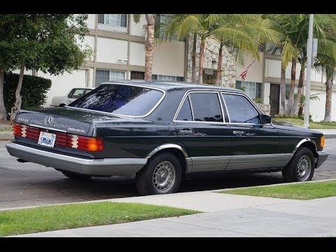1985 Mercedes-Benz 300SD Black Pearl - 67,xxx Original Miles