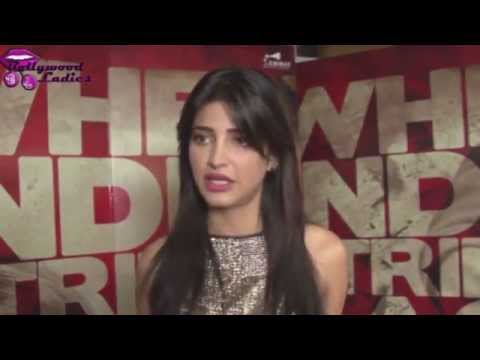 Shruti Hassan promoting her film 'D-Day'
