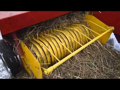 Самодельный пресс подборщик рулонный для сена