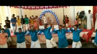 Kerala wedding flash mob  with Bride