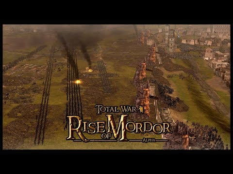 Sauron's Siege Of Gondor - Lord Of The Rings | Rise Of Mordor Total War