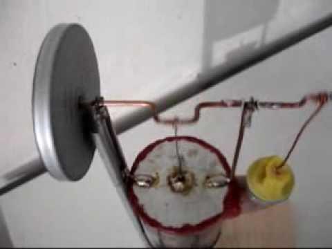 Simple Stirling Engine Motor diferencial de temperatura