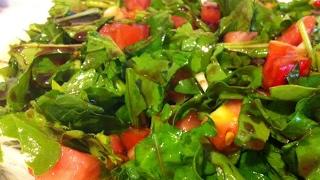 Nar ekşili roka salatası tarifi