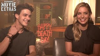 Happy Death Day (2017) Jessica Rothe & Israel Broussard talk about their experience making the movie
