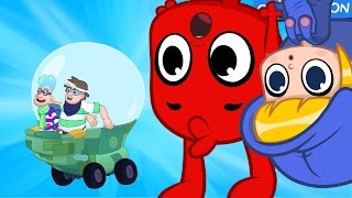 Morphle and the gravity bandits -- animation episode video for kids
