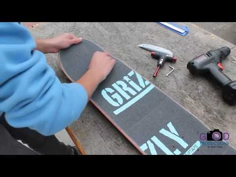 Setting Up My New Skateboard Stuart Trejos
